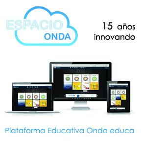 Resultado de imagen de plataforma ONDA EDUCA